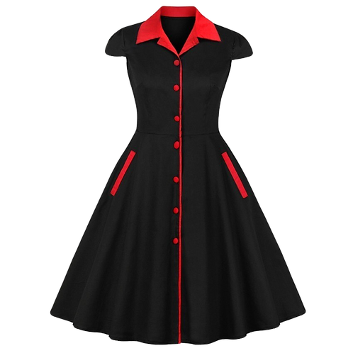 Collared Vintage Dress