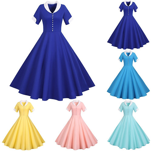 Retro 50's Swing Dress