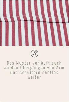 Befeni Muenchen München Munich | Das Muster verläuft auch an den übergängen von Arm und Schultern nahtlos weiter