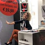 Romina Sattler Befeni Vertriebspartnerin Bayern Passau Masshemden