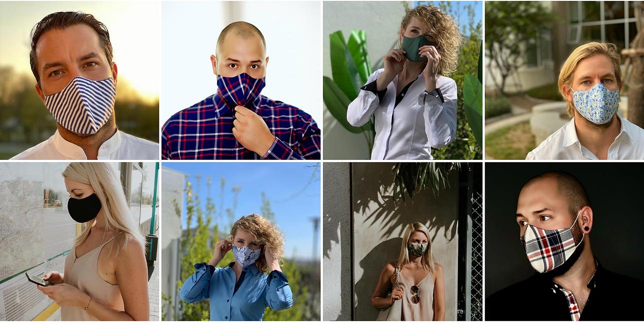 Maske Baumwollmaske Mund und Nasen Maske