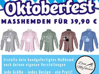 Das Oktober-Maßhemden-Fest kann kommen!