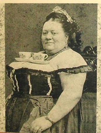 Vintage photo of a prostitute nicknamed Tea Cup Sally
