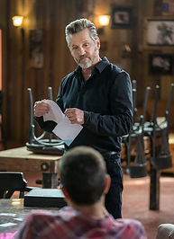 Jerry Trimble as Mark Hall on Chesapeake Shores.
