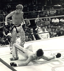 Jerry Golden Boy Trimble takes down European Champion Pascal Leplat with a wicked right hand.jpg
