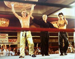 Jerry Trimble went on todefeat Shreveport's,Robert Visitacion, for the Southeast lightweight Championship.jpg