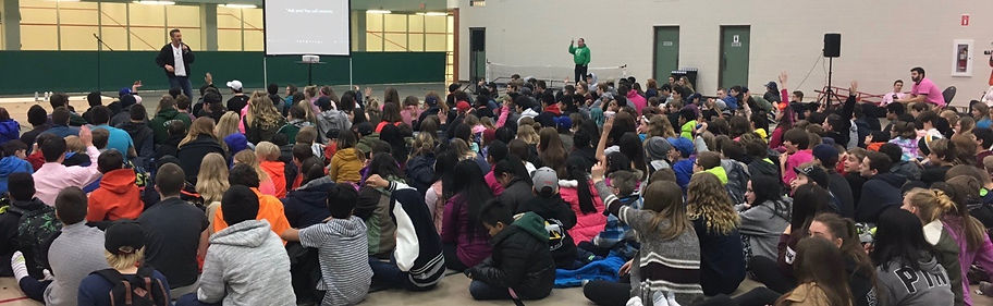 Jerry Trimble Talks Bullying to the Teens in Grand Prairie Alberta