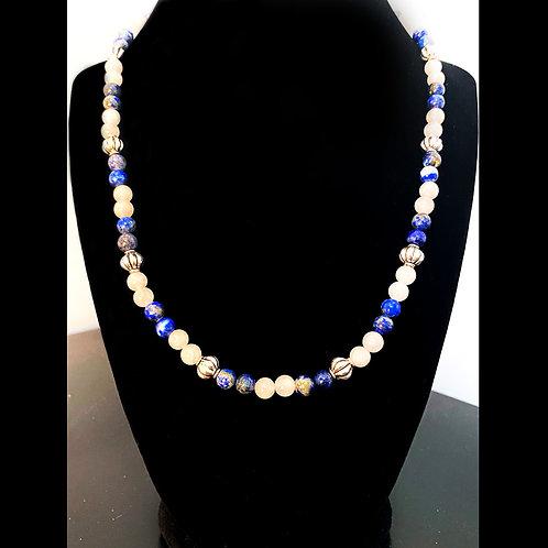 Lapis Lazuli & Rose Quartz
