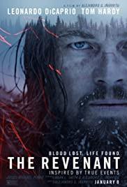 The Revenant Poster - intense, suspenseful, journey of survival featuring oscar-winning Leonardo DiCaprio