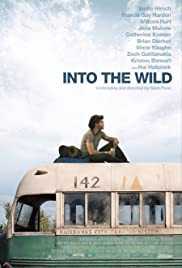 Into the Wild Movie poster - wilderness adventure and survival cult classic