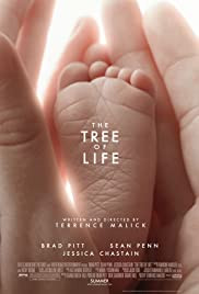 The Tree of Life poster - a 2011 American epic experimental drama film starring Brad Pitt