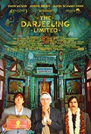 The Darjeeling Limited movie poster - 2007 American comedy-drama film directed by Wes Anderson