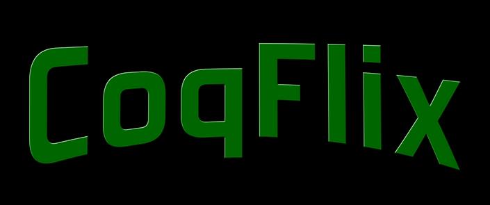 coqflix logo green letters no website.pn