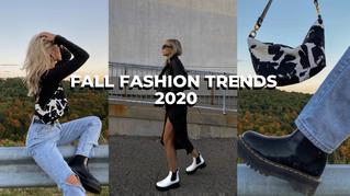 Fall Fashion Trends 2020