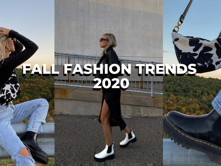 Fall Fashion Trends 2020