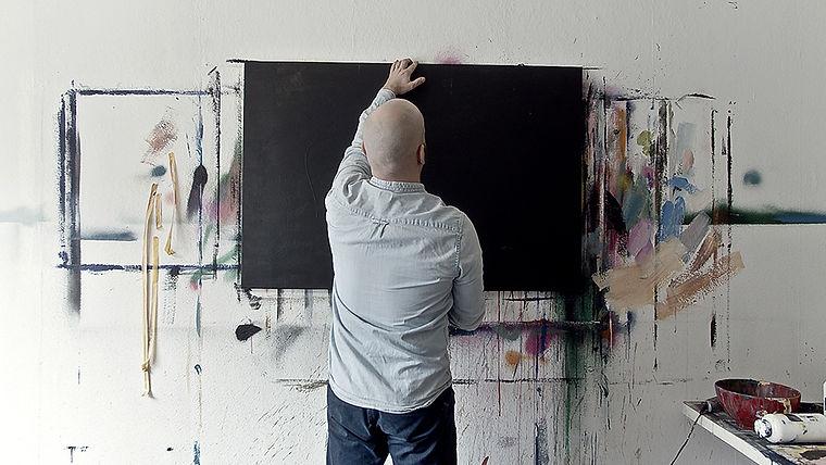 Atelier eines Künstlers