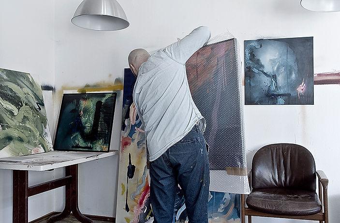 Kunst verpacken - Atelier - Wolfsburg