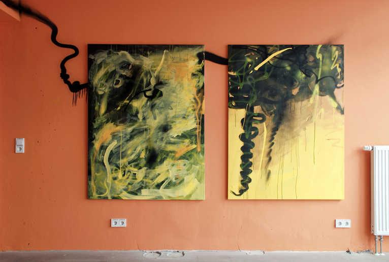 Abstrakte Gemälde _ Phaenomenale 2020 _