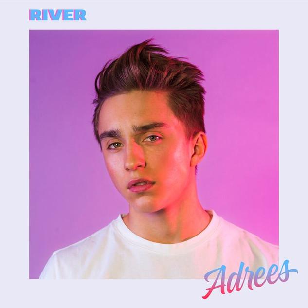 Adrees - styling av singel cover
