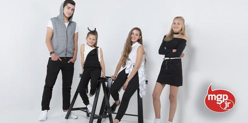 MGP Junior - styling av turneplakat 2016