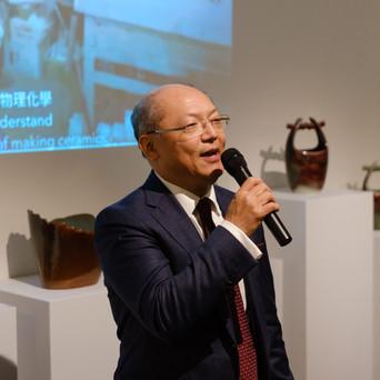 Opening reception | TRO Deputy Representative Shyang-Yun Cheng gave opening remarks