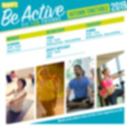 01283POS Be Active Timetable-Autumn 2019