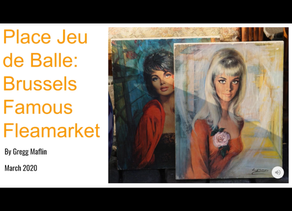 "ARE YOU UP FOR A TRIP TO BRUSSELS?  VISIT THE ""PLACE JEU DE BALLE"" FAMOUS FLEA-MARKET... AT HOME"