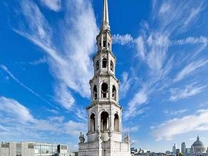 HIDDEN LONDON [1] St Bride's... the Church that inspired a Princess Wedding Cake?