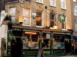 HIDDEN LONDON [2] The Lamb Pub - Charles Dickens Local Hostelry!