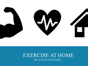 LET'S BE-ACTIVE AT HOME!