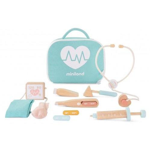Miniland - Wooden Doctor Set