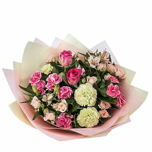 Bouquet In Pink