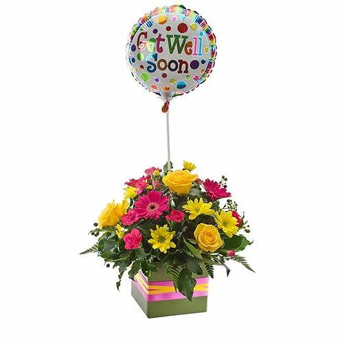 Bright Box & Balloon