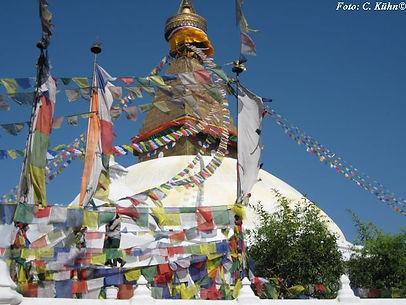 Stupa Boddnath, Kathmandu, ADEMED 2011, Nepal