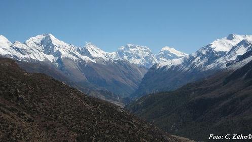 Marsyandi-Tal, ADEMED 2011, Annapurna-Region, Nepal