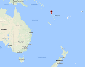 Karte Vanuatu, ADEMED 2016