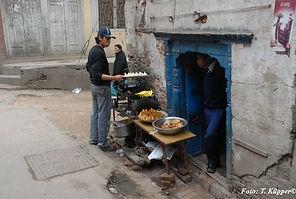 Einheimische Küche in Kathmandu, ADEMED 2008, Nepal