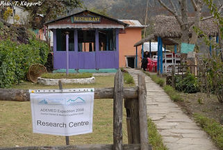 Provisorisches Forschungscamp in Bhulbhule, ADEMED 2008, Annapurna-Region, Nepal