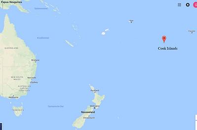 Karte Cook Islands, ADEMED 2016