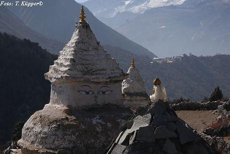 Chorten, Dingboche, Solu Khumbu, Everest-Region, Nepal