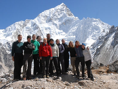 Team ADEMED 2011, Lhotse, Khumbu, Nepal, Everest