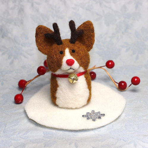 Red and White Reindeer