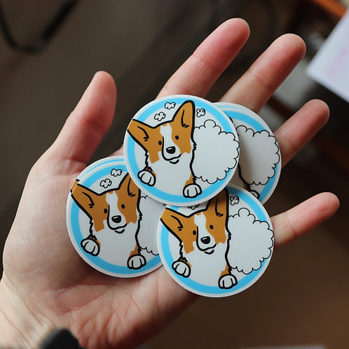 Sticker: Pocket Says What?