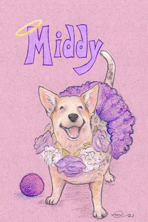 Illustrated Pet Portrait
