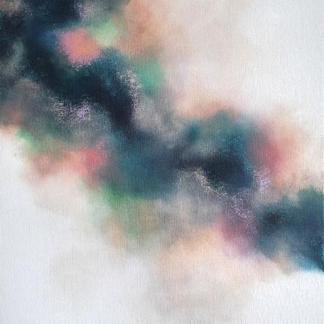 Kom liljor och akvileja - höger målning