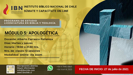 AFICHE  Módulo licenciatura  Apologetica.png