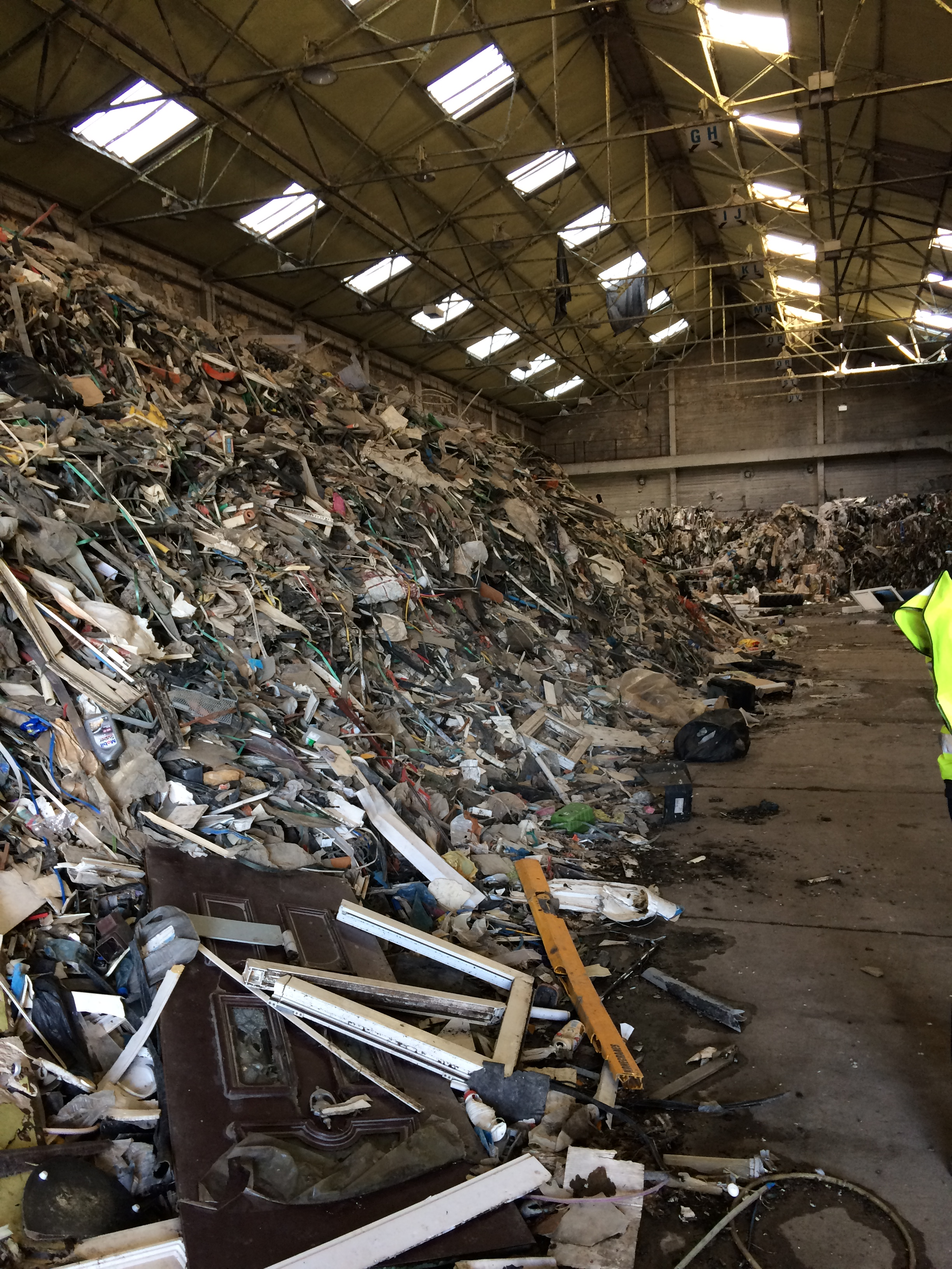 Unit waste clearance
