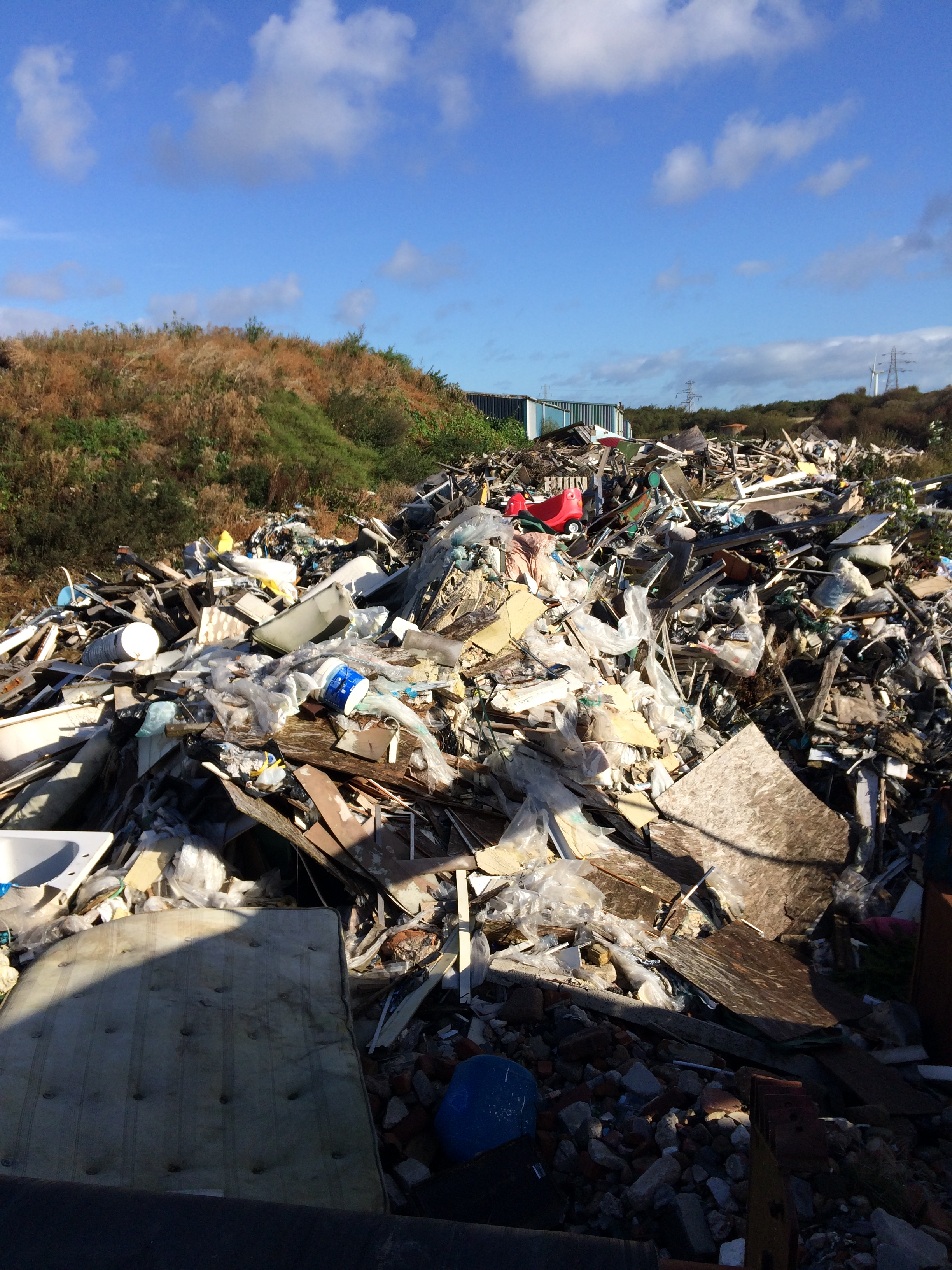 Outdoor site clearance