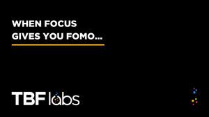 More focus, less FOMO for deliberate growth