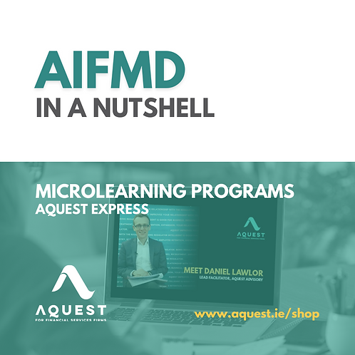 AIFMD in a nutshell